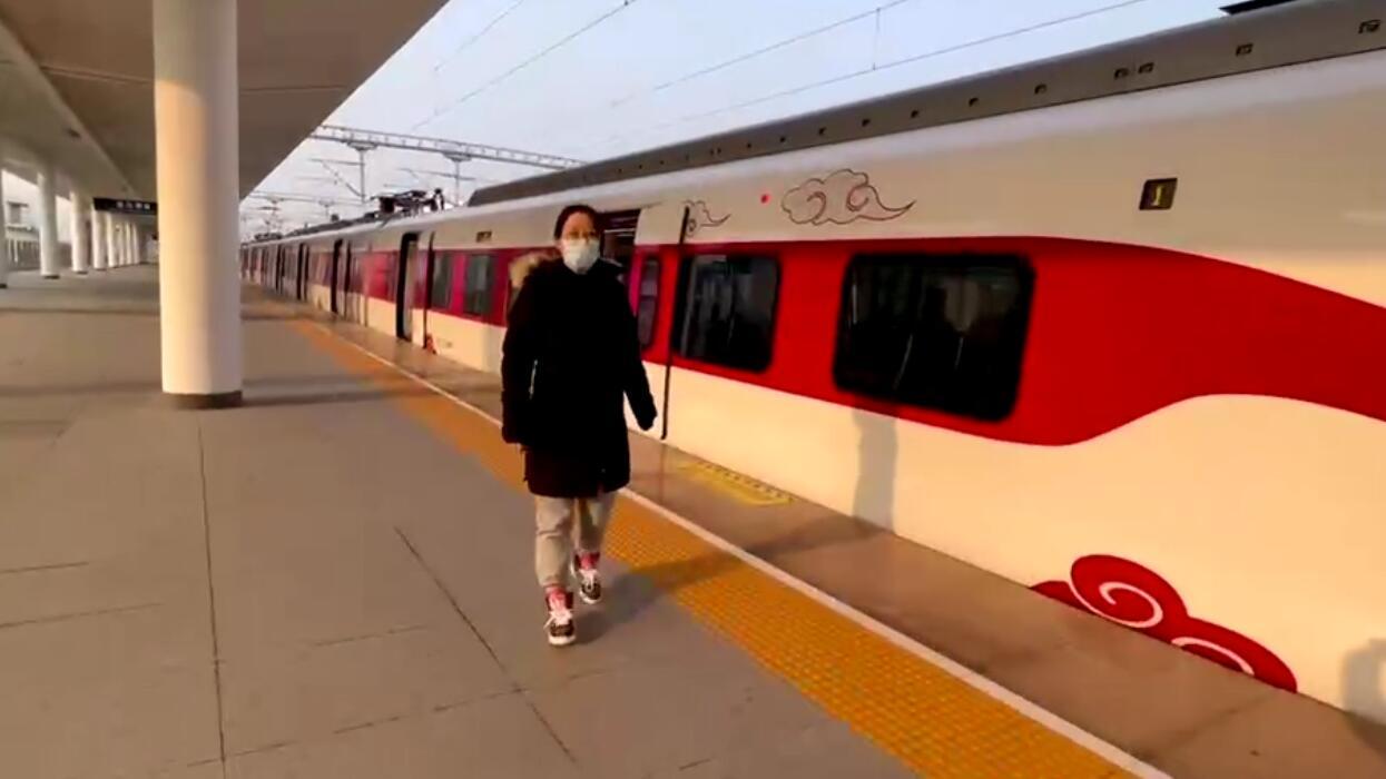 """现场体验!连云港""""美猴王""""市域列车等你来打卡!"""