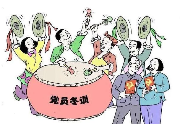"""灌云""""1234""""绘就党员冬训""""作战图"""""""