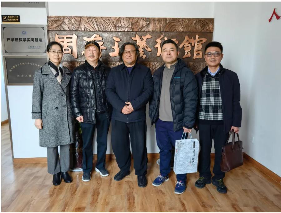 中国航海学会与华夏文化遗产基金会来连调研山海文化