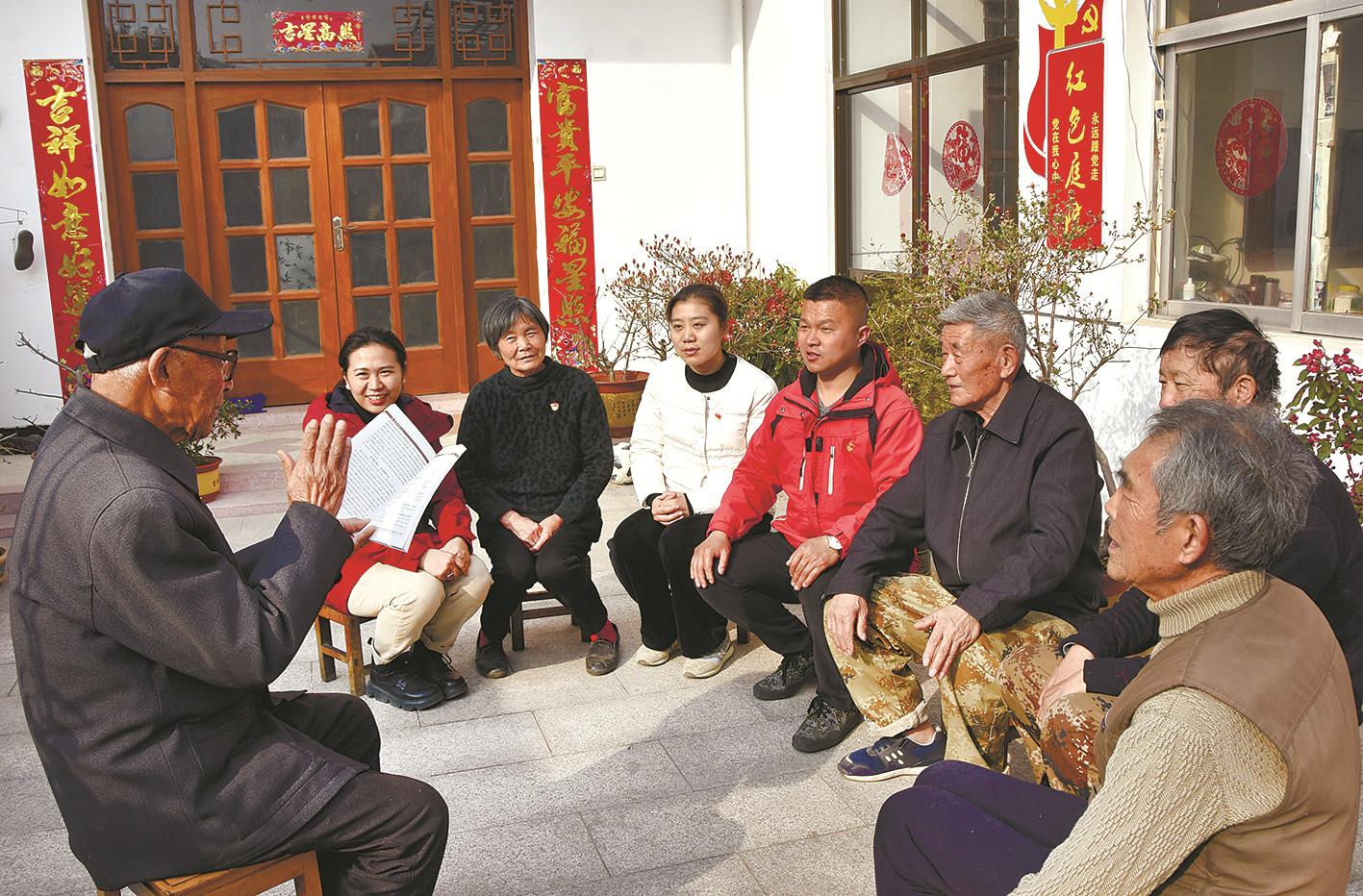 91岁老党员讲述抗日故事 重温红色记忆