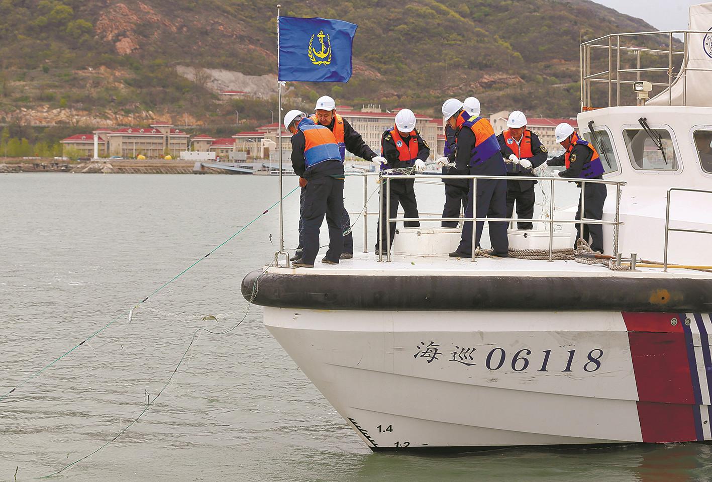 连云港海事局有效保障环境安全