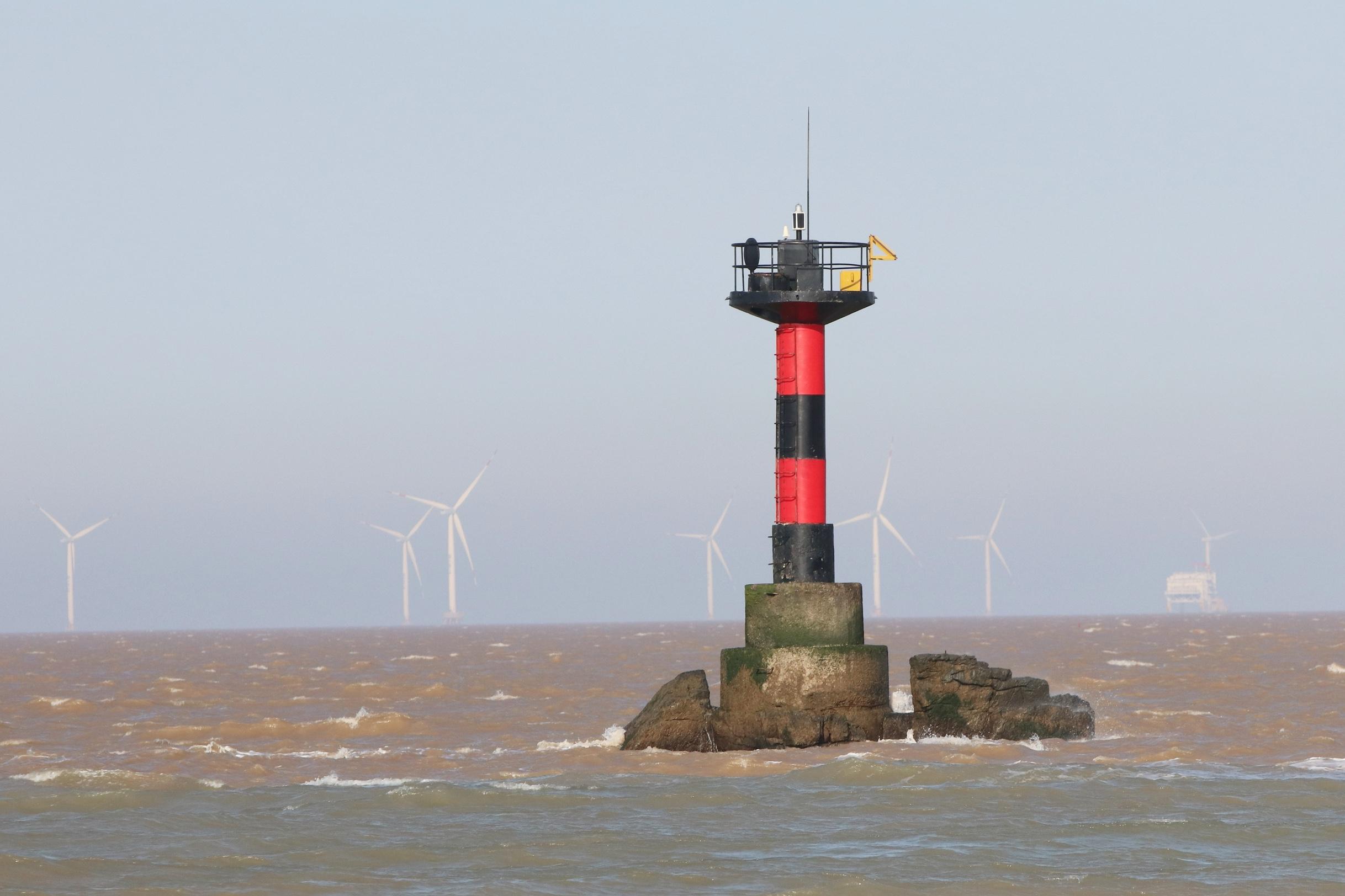 海上风电施工忙