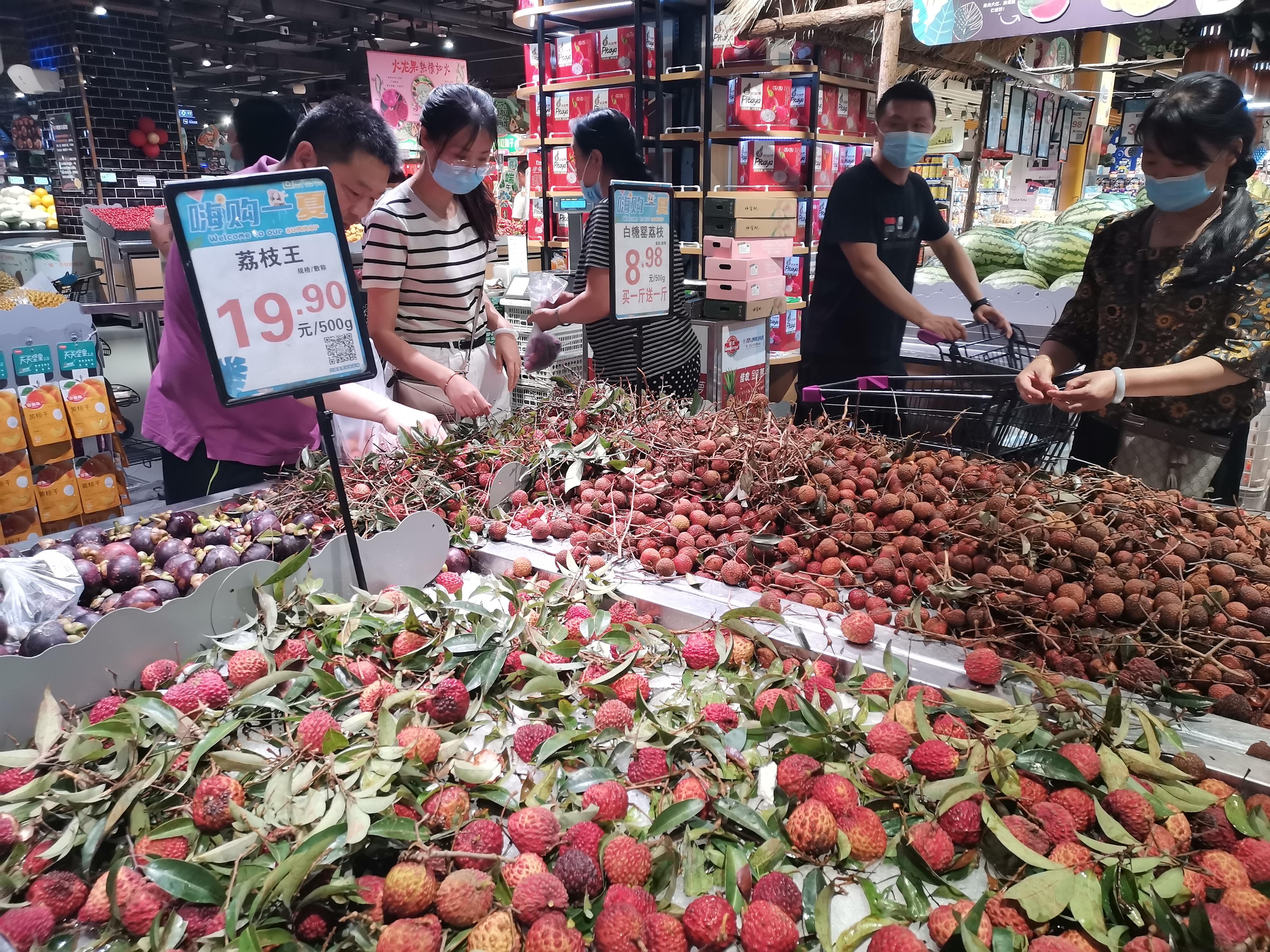 荔枝量大价格低,苹果库存周期接近尾声价格持续下跌