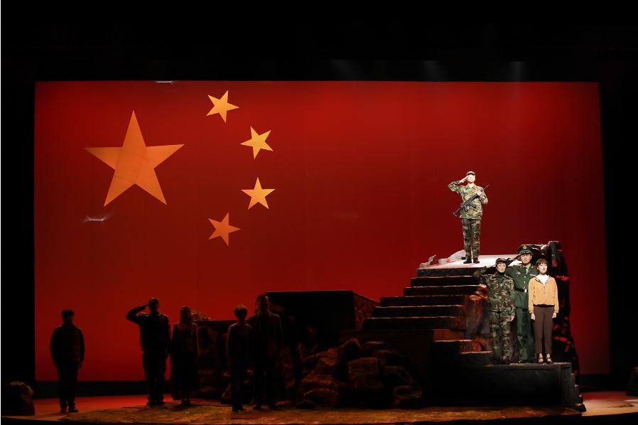 江苏省庆祝建党100周年优秀舞台艺术作品展演剧目——原创话剧《守岛英雄》震撼上演
