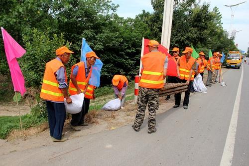 灌南交通局完善公路预警机制防汛防台风