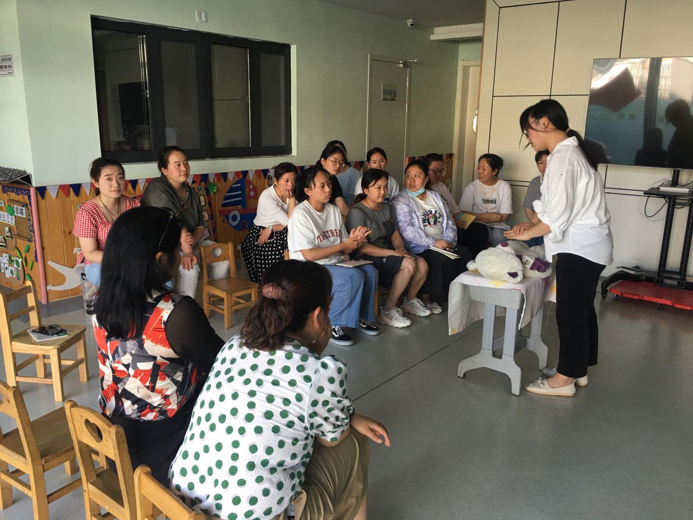海州幼教中心開展急救培訓演練活動