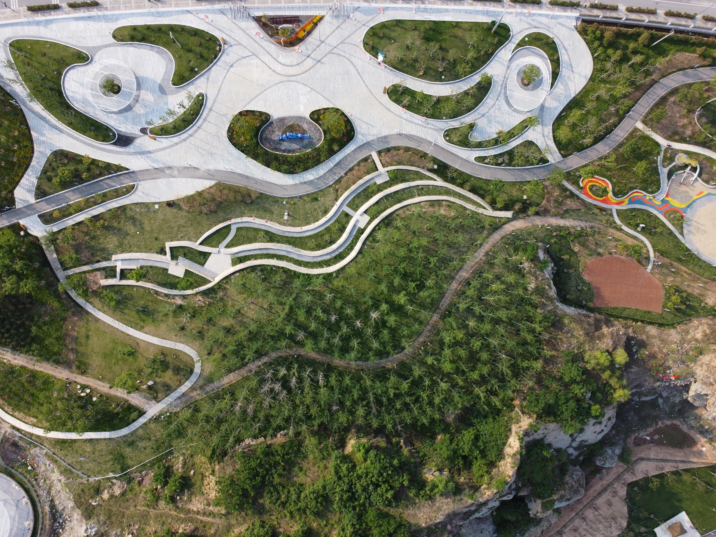 劉志洲山體育公園成為連云港市民休閑旅游新去處