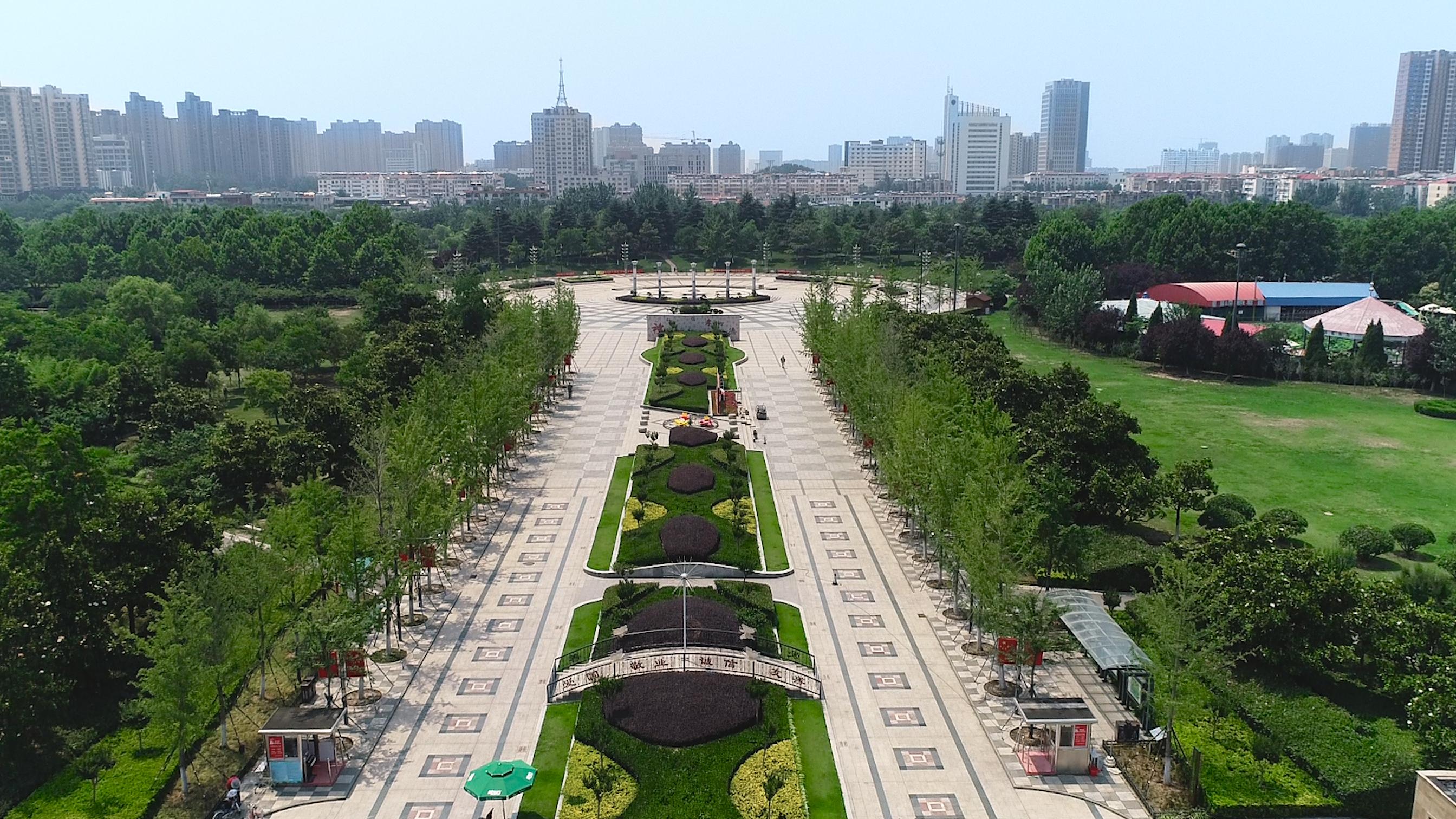 換個視角看連云港市區最大城市生態綠地——蒼梧綠園