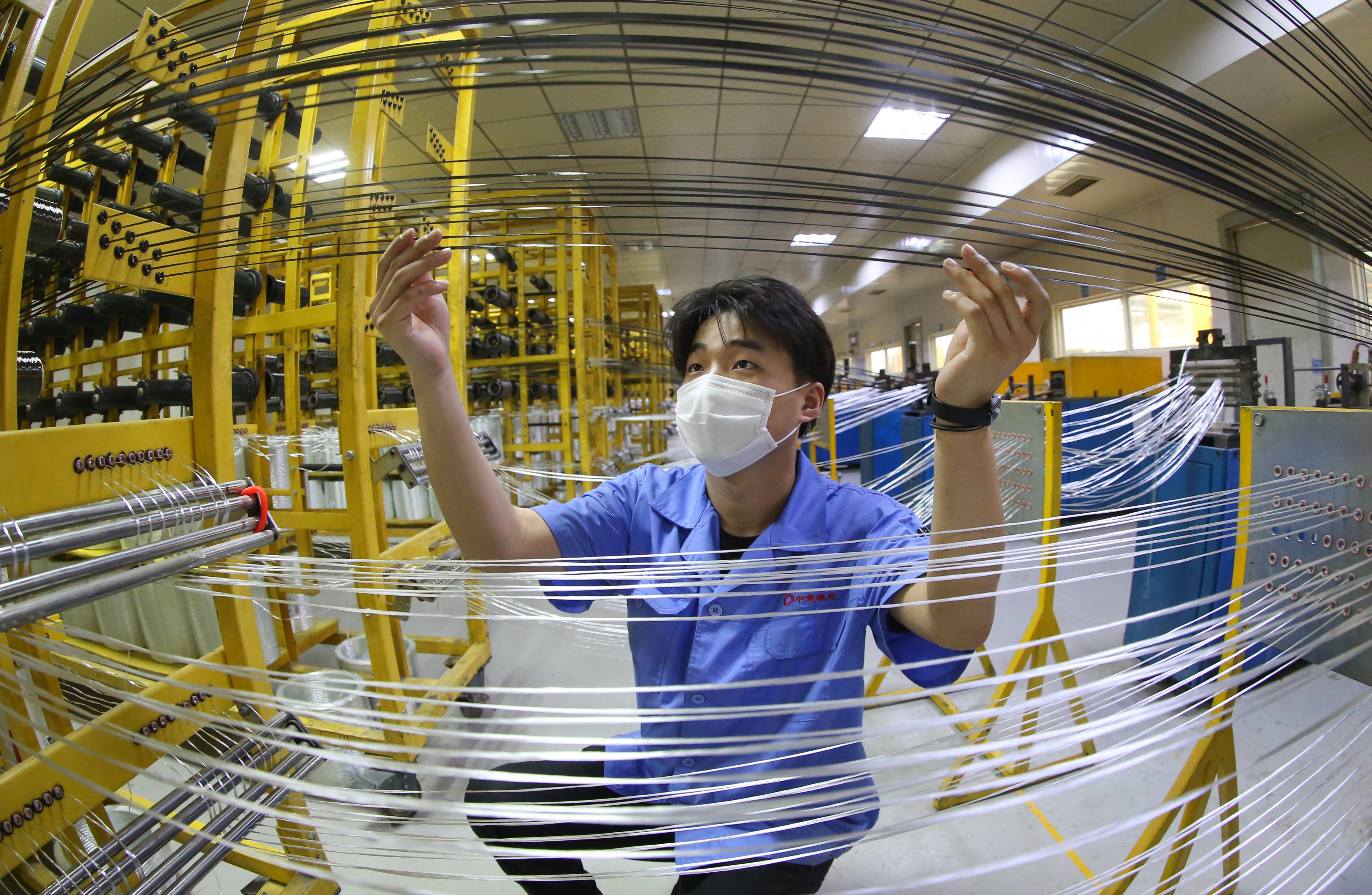 連云港新材料產值持續高位增長