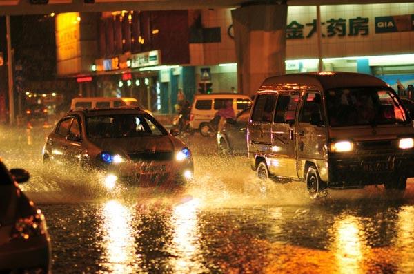 本周前期多雷陣雨天氣 需關注強對流
