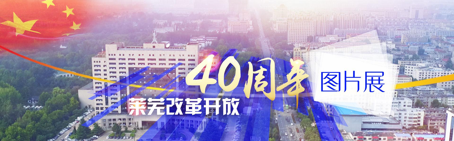莱芜改革开放四十周年图片展