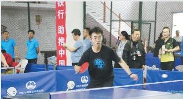 中铁十局集团第四届职工乒乓球比赛在苏州举行