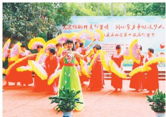 南京龙王庙社区举办邻里节活动