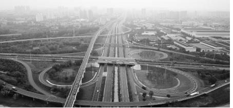 江北大道快速化改造工程二期完工
