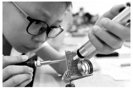 扬州市青少年创新后备人才培训班开班